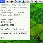 Review of Battery Life in Mountain Lion 10.8.2